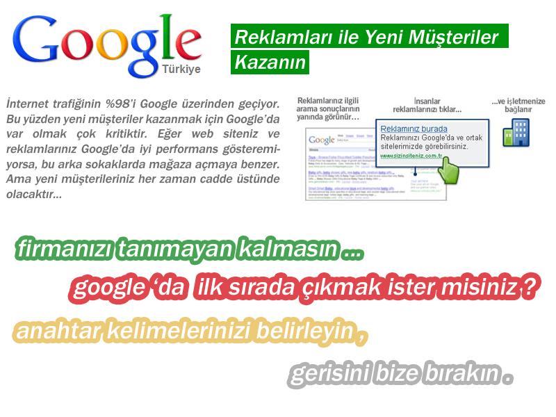Gebze Tasarım Web Tasarım Hizmetleri Google Reklam Adwords